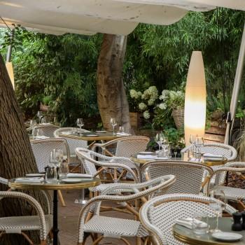 La terrasse du restaurant Flora Danica à Paris